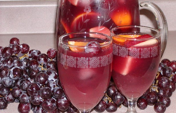 Portuguese Sangria with a Kick Recipe