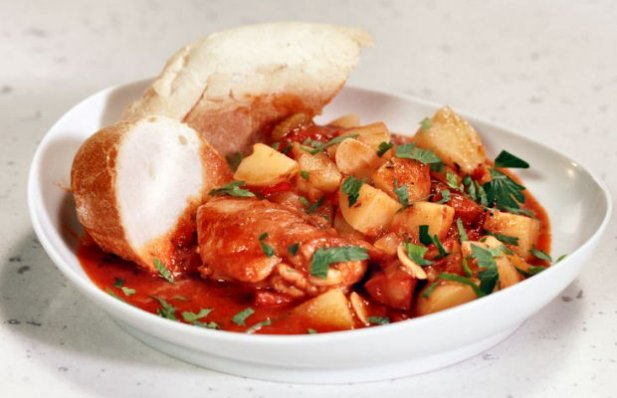 Portuguese Chicken & Potatoes Recipe
