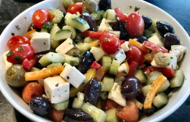 Portuguese Style Medley Salad Recipe