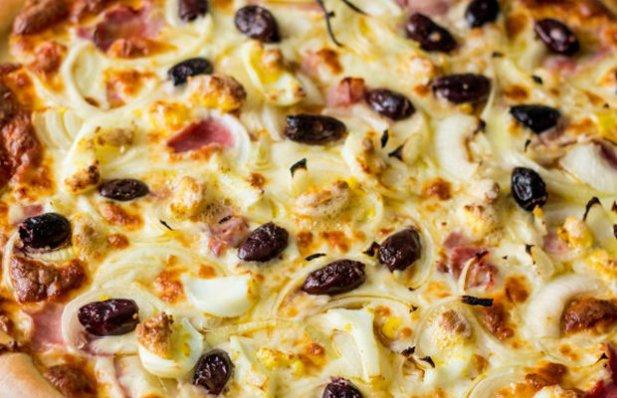 Portuguese Style Ham Pizza Recipe