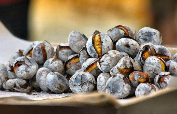 Roasted Chestnuts Recipe - Portuguese Recipes