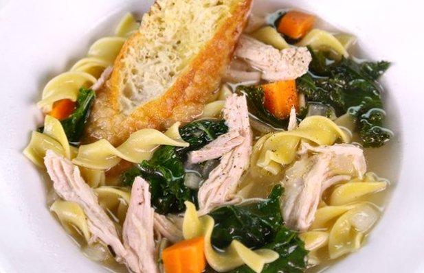 Portuguese Turkey & Kale Soup Recipe