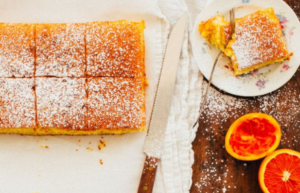 Portuguese Orange Cake Recipe