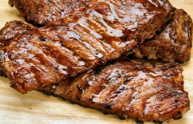 Portuguese Grilled Pork Ribs Recipe
