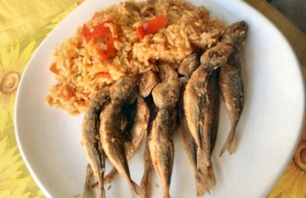 Portuguese Horse Mackerel with Rice Recipe