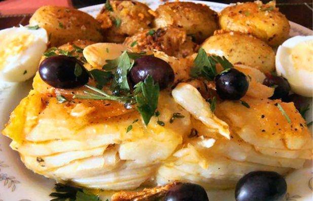 Portuguese Fried Cod Recipe - Portuguese Recipes