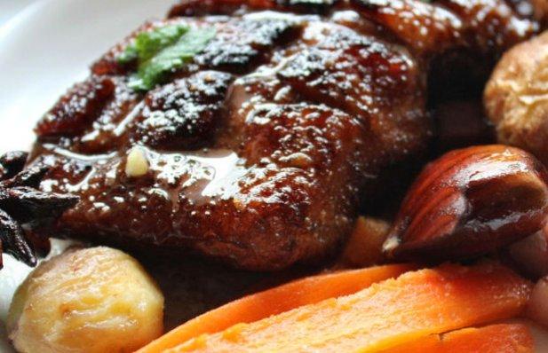 Portuguese Duck with Chestnuts Recipe - Portuguese Recipes