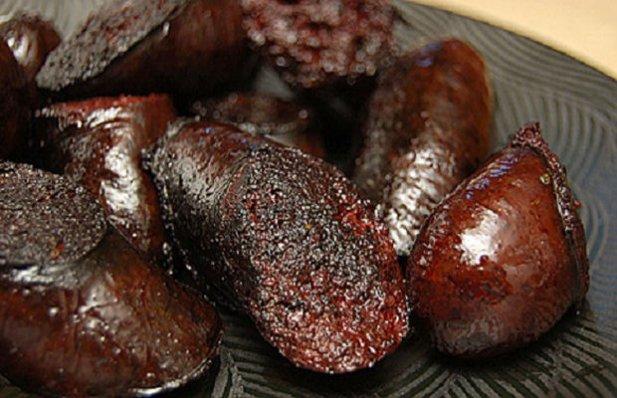 How to make Portuguese black pudding (Morcela).