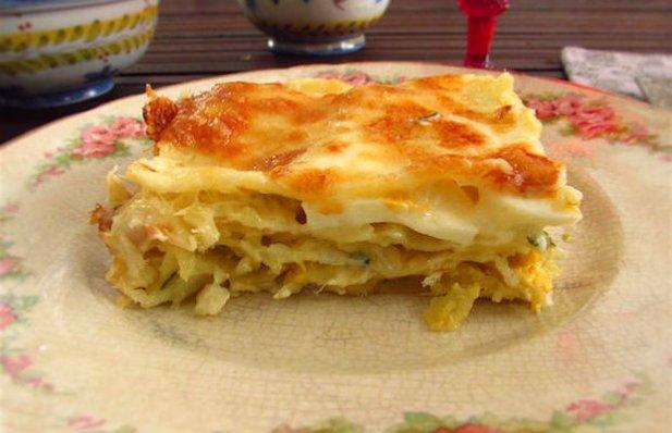 Portuguese cod lasagna recipe for Portuguese cod fish recipes