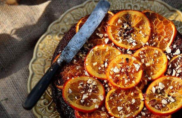 Portuguese Honey, Orange and Hazelnut Cake Recipe
