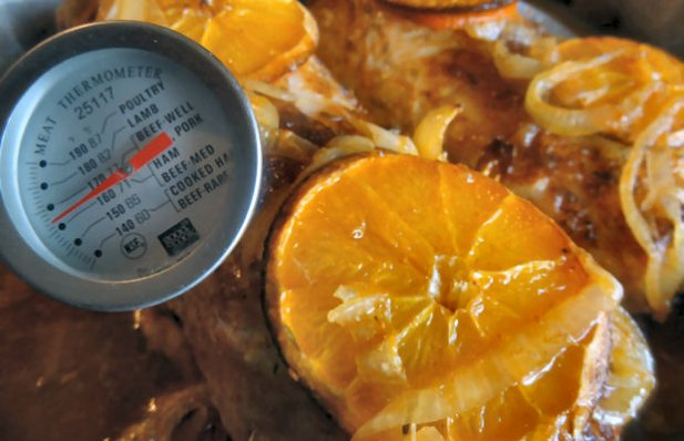 Portuguese Orange Marinated Roast Pork Loin Recipe