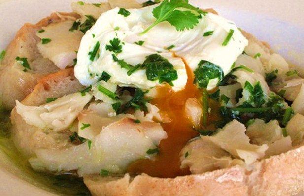 Portuguese Codfish Bread Soup Recipe