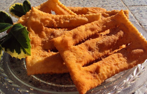 How to make Portuguese angel wings fried pastry (Coscorões).