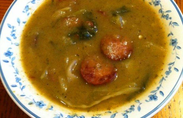 Portuguese Green Cabbage Soup Recipe