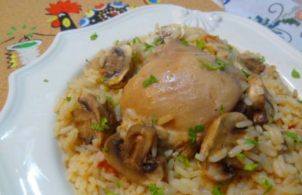 Portuguese Chicken with Rice Recipe