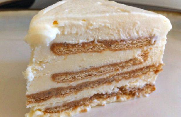 Portuguese Maria Cookies Ice-cream Cake Recipe