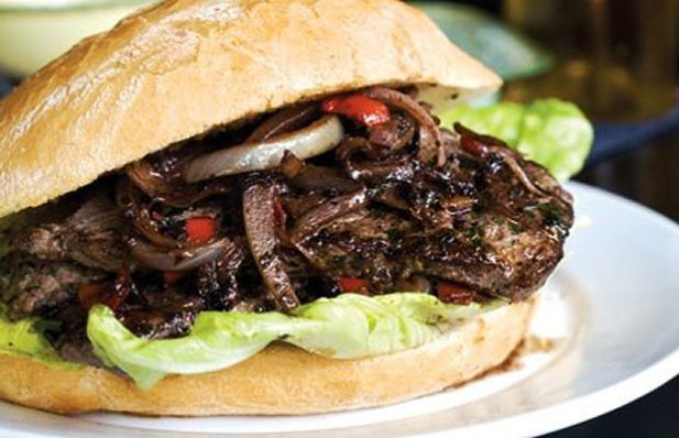 Portuguese Steak Sandwich Recipe