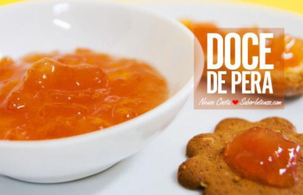 Portuguese Pear Jam Recipe - Portuguese Recipes