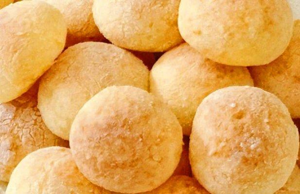 Brazilian Cheese Bread Rolls Recipe