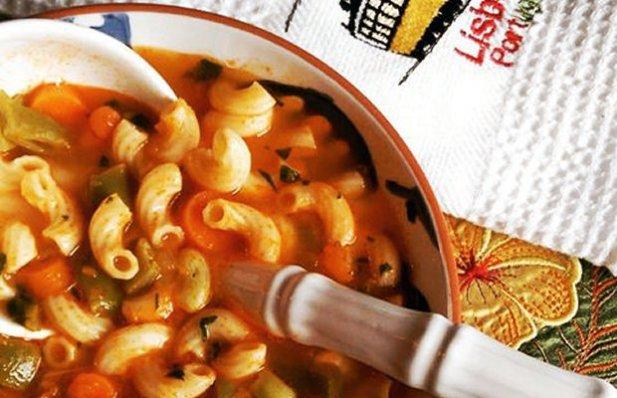 Portuguese Green Bean Soup Recipe