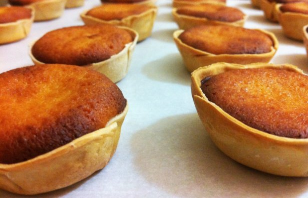 Tarts form Sintra  are a traditional and signature Portuguese pastry.