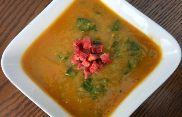 Portuguese Sweet Potato & White Bean Soup Recipe