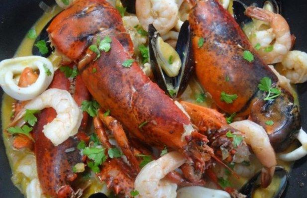 Portuguese Shellfish Stew Recipe - Portuguese Recipes