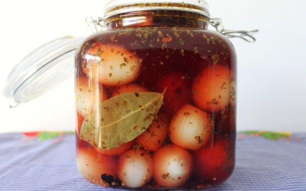 Portuguese Pickled Onions Recipe