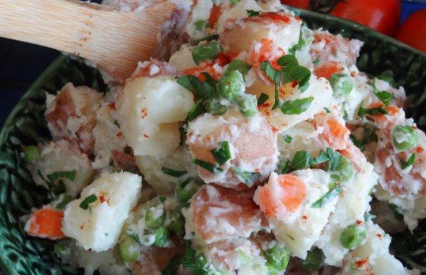 Portuguese Potato Salad Recipe - Portuguese Recipes