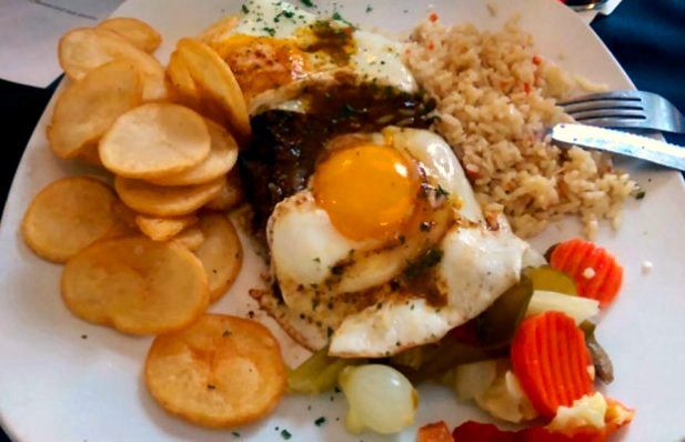 Portuguese Steak & Egg Recipe