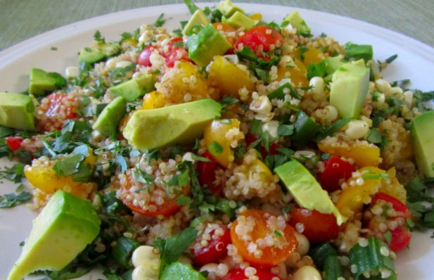 Portuguese Chouriço and Quinoa Salad Recipe