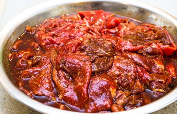 Portuguese marinade (vinha d'alhos) for pork or beef recipe. Please adjust the amount of ingredients by the amount of meat you are going to marinate. You will need enough to cover the meat.