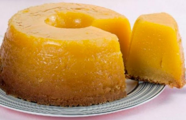 This Portuguese almond pudding ( pudim de amendoas) recipe makes an amazing pudding using only simple ingredients.