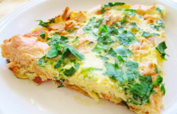 Portuguese Salmon Omelette Recipe