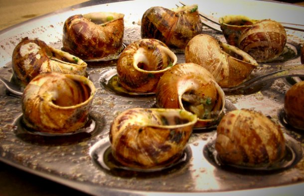 Many people love this Portuguese snails (caracois) recipe, the broth is also great to mop up with some crusty bread.
