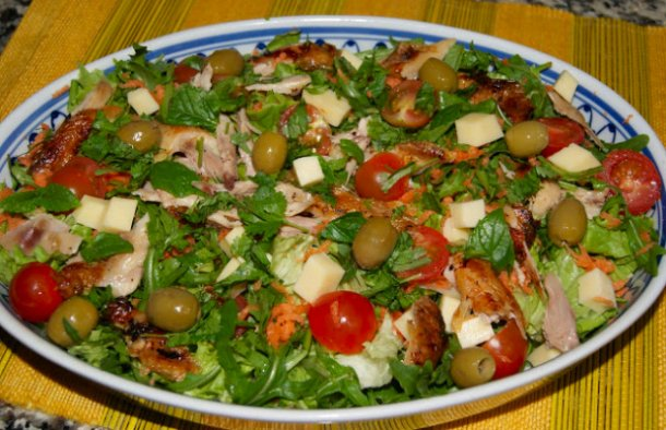 Portuguese Chicken Salad Recipe