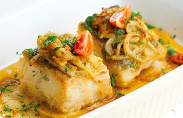 Portuguese Fried Cod with Eggs Recipe - Portuguese Recipes