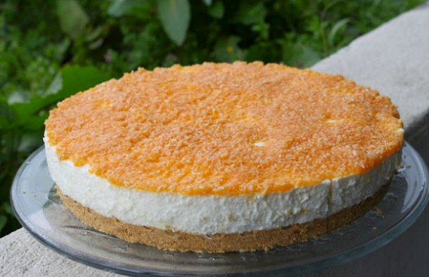 This Portuguese pumkin cheesecake recipe is perfect for anytime and makes a great dessert.
