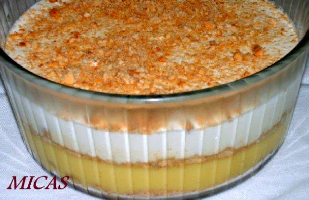 Portuguese Quick Pudding Dessert Recipe