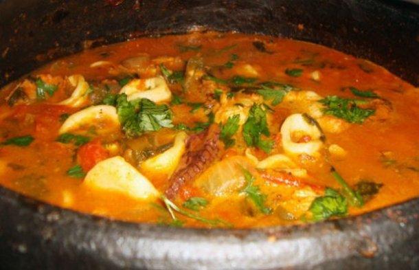 Portuguese Squid Stew Recipe - Portuguese Recipes