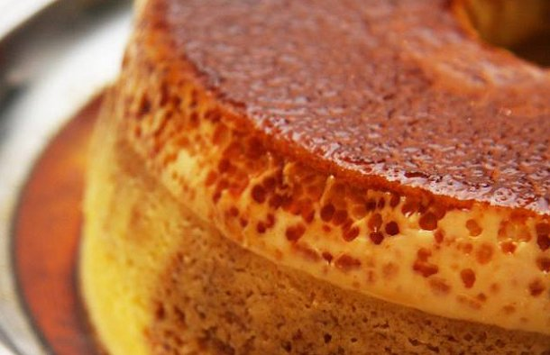 The delicious combination of pudding and cake make this Portuguese pudding cake recipe a great sweet treat.