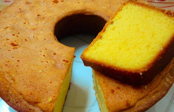 Portuguese Yellow Cake Recipe - Portuguese Recipes