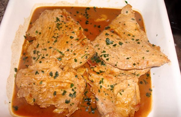 Portuguese Pork Steaks (Bifanas) Recipe