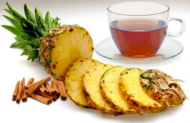 Pineapple tea is a natural diuretic, it reduces appetite and detoxifies the body, helping you lose weight and feel better.