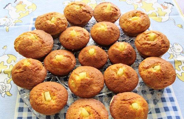 Portuguese Pineapple & Cinnamon Cupcakes Recipe