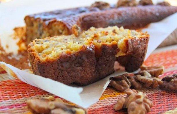 Portuguese Honey & Walnut Cake Recipe - Portuguese Recipes