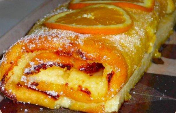 Portuguese Orange Roll Recipe  - Portuguese Recipes