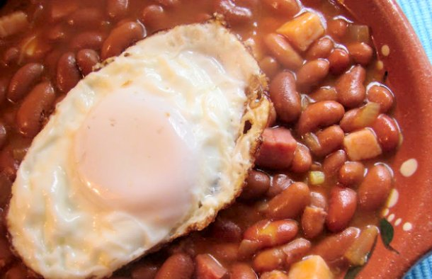 Portuguese Beans with Bacon Recipe