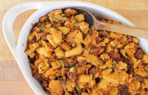 Portuguese Chouriço Stuffing Recipe