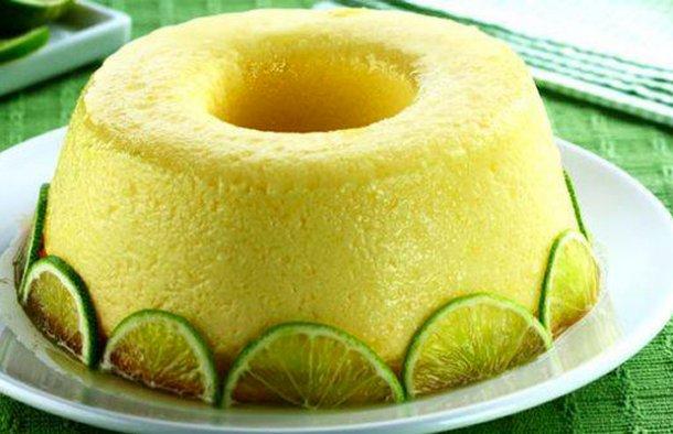 Portuguese Lime Pudding Recipe